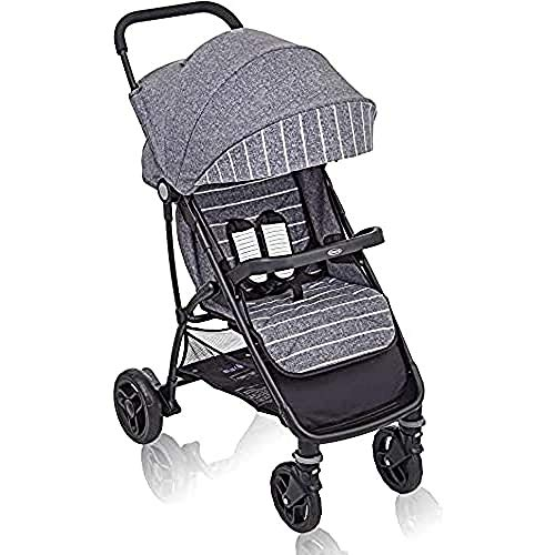 Graco Breaze Lite Pushchair/Stroller (Birth to 3 Years Approx, 0-15 kg), Lightweight and Easy Fold, Suits Me