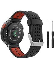 Garmin Forerunner 235, armband, horlogeband, zachte siliconen, reserveband, voor Garmin Forerunner 235/220/230/620/630/735, Smart Watch, van Fit-power