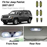 6pcs Patriot Interior LED Lights Kit Super Bright LED Map Dome Truck Light Bulbs...