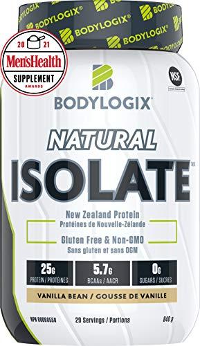 Bodylogix Natural Isolate, Vanilla Bean, 840 g