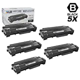 LD Compatible Toner Cartridge Replacement for Samsung MLT-D103L High Yield (Black, 5-Pack)