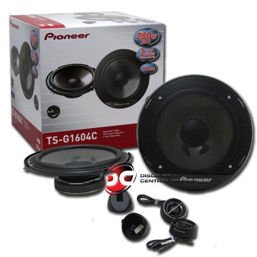 Pioneer 6.5-Inch 280W 2-Way Car Audio Speaker, Set of 2