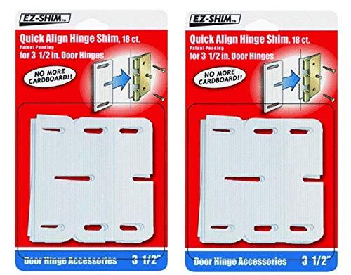 EZ-SHIM HS350BP 3.5' Hinge Shim (36 Pack)