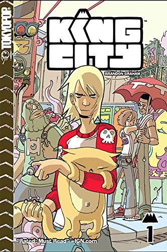 King City manga (English Edition)