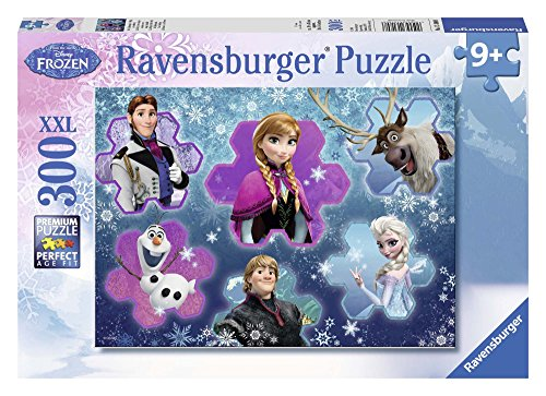 Ravensburger Italy 13180 Puzzle Frozen, 300 Pezzi