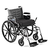 Bariatric Wheelchair - Heavy Duty with Desk Length Arms & Swingaway Footrests - 350lb Capacity - Invacare Tracer IV - Size 22 x 18
