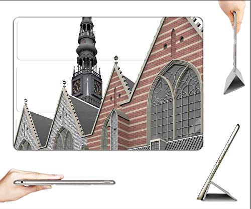Case for iPad 10.2-inch 2019 (7th Generation) - Oude Kerk Amsterdam Architecture Building Church 5