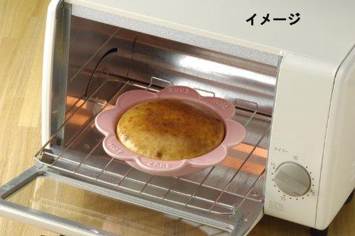 三陶(Santo)『萬古焼ホット&パンケーキプレートピンク(13038)』