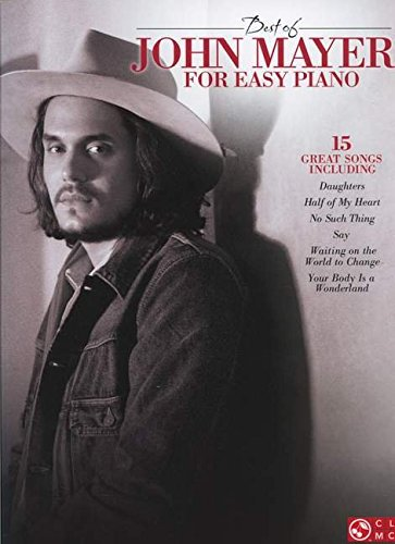 Best Of John Mayer - Easy Piano: Songbook für Klavier (Easy Piano Personality)