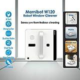 Mamibot W120 iGlass Window Cleaning Robot Lavadora robótica automática para limpiar ventanas de gran altura en interiores y exteriores con control remoto y control de aplicaciones
