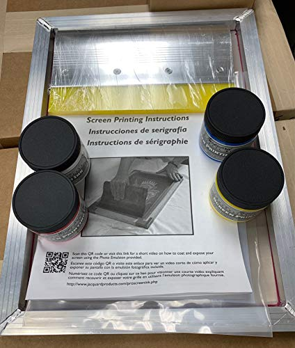 Screen Printing Kit - Durable - Kit for Beginners