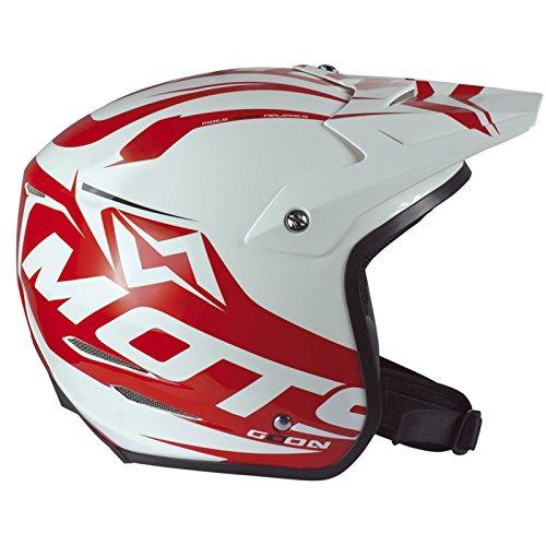 Mots MT6203XLR Casco Trial GO ON, Rojo, Talla XL