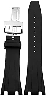 Audemars Piguet Watch Band(Silicone Black) Replacement Watch Strap Quick Release