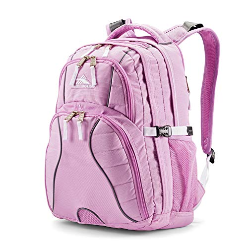 High Sierra Swerve Laptop Backpack, 19 x 13 x 7.75-Inch, Iced Lilac/White