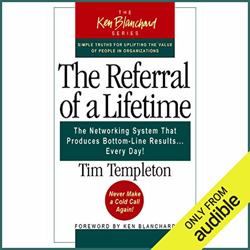 The Referral of a Lifetime audiobook cover art