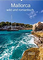 Mallorca - wild und romantisch (Wandkalender 2022 DIN A2 hoch): Mallorca fuer Liebhaber mit tollen Bildern einer Auswahl an Buchten (Monatskalender, 14 Seiten )