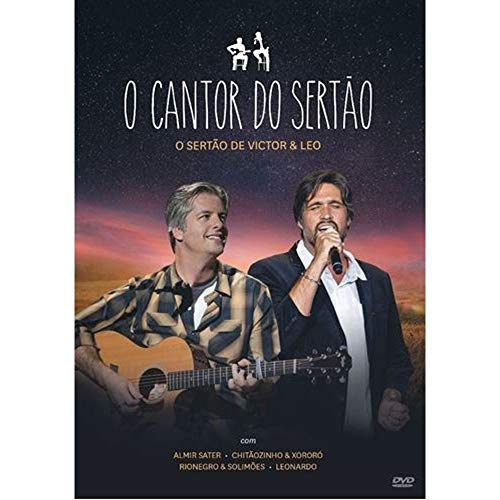 VICTOR & LEO - VICTOR & LEO - O CANTOR DO SERTAO - [DVD]