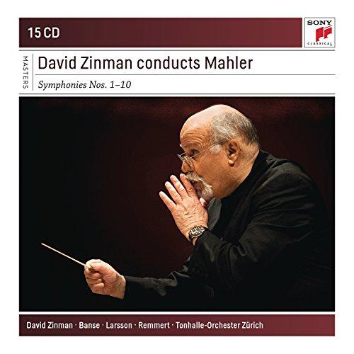 David Zinman conducts Mahler Symphonies Nos. 1 -10