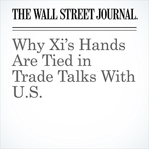 Why Xi's Hands Are Tied in Trade Talks With U.S. copertina