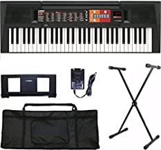 Kit Teclado Musical Yamaha Psr-f51 61 Teclas 114 Estilos