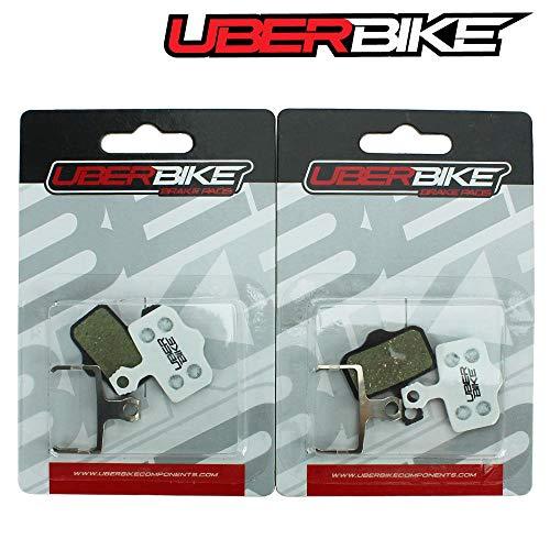 Uberbike Avid Elixir 1-3-5-7-R-CR-SRAM XX-X0 Race-Matrix - Pastillas de freno (2 pares)