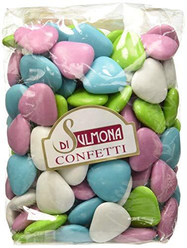 Confetti Di Sulmona Cuori Al Cioccolato, Colori Assortiti - 500 Gr