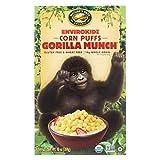 Envirokidz Organic Corn Puff - Gorilla Munch - Case of 12 - 10 oz.