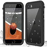 ULELA iPhone SE 2020 Waterproof Case,iPhone 7/8 Waterproof Case,Built-in Screen...