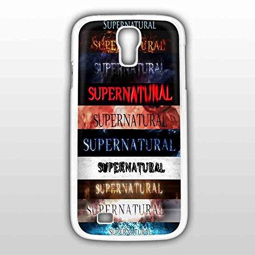Supernatural arte película funda serie para iPhone y Samsung Galaxy caso