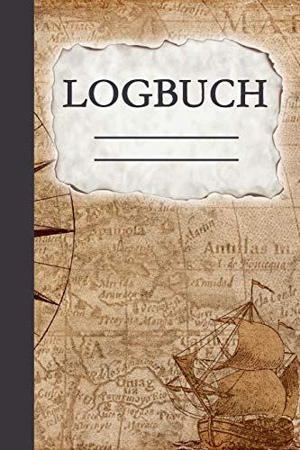 Logbuch: Seetagebuch für Hobby-Schiffsführer | Segler | Yacht | Motorboot | Sporboot | Nautisches Meilenlogbuch