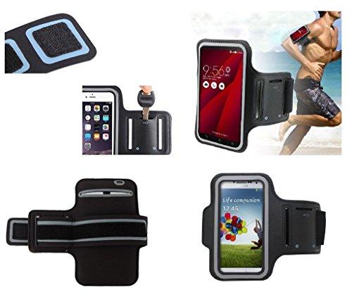 DFV mobile - Funda Brazalete Profesional de Neopreno Premium para Brazo Deporte...