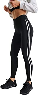 High Waist Athletic Leggings for Women's Workout Soft Patchwork Compression Yoga Pants
