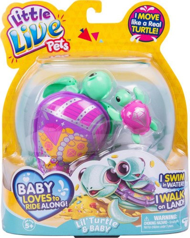 Little Live Pets 28417 S5 Turtle Single PackJules, Multi color, 4.72'' x 1.77''x 2.99''