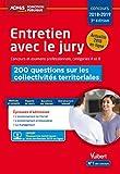 Entretien avec le jury - Concours 2018-2019 (Admis Fonction Publique) - Format Kindle - 9782311206036 - 12,99 €