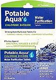 Potable Aqua Chlorine Dioxide Water Purification Tablets - 20 Count