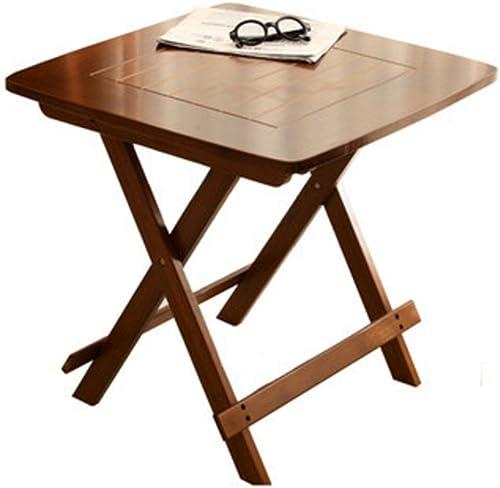 NAN Table Pliante de Bonne qualité Table d'intérieur ou d'extérieur Pliante pour Le Jardin (Taille   L80cm x H76cm)