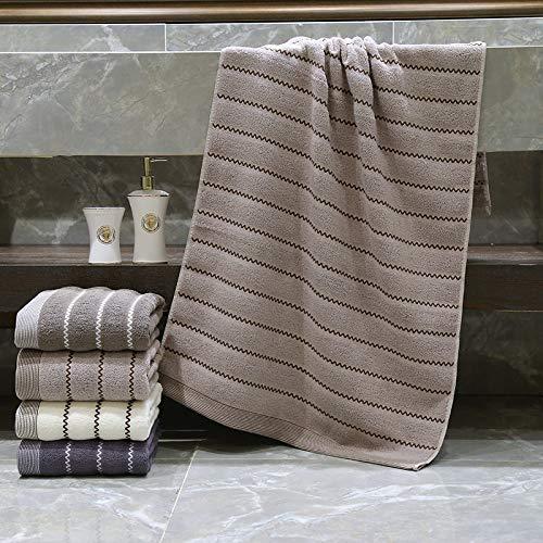 DSJDSFH badhanddoek, eenvoudige verdikking, katoen, comfortabel, 70 x 140 cm, geschikt voor badhanddoeken, van katoen, reizen, fitnessstudio