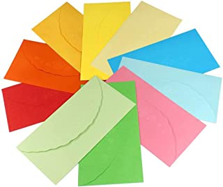 Small Colorful Envelopes - Even's Shop Cute Kawaii Sweet Korea Paper Envelope for Greeting Card ( Pack of 50 PCS 3