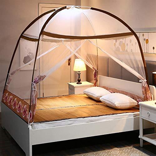 Mosquiteras2020 nuevo estudiante adulto adulto hogar cifrado plegable cremallera bidireccional yurt mosquitera