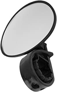 LIOOBO Bike Mirror Blast-Resistant Rearview Handlebar Glass Mirror for Mountain Road Cycling Bicycle