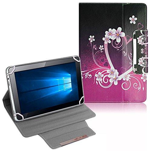 UC-Express Tasche Medion Lifetab S10366 S10365 S10352 P10356 P10325 Hülle Tablet Schutzhülle Cover NAUCI, Motiv:Motiv 1