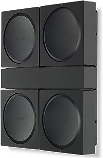 Flexson Väggfäste för 4 Sonos Amps FLXSAWX4WM1021 – svart