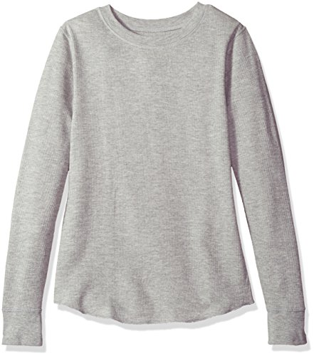 Hanes Plus Size Women's Ultimate Thermal Crew, Charcoal, Large