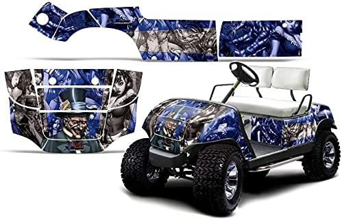 AMR Racing Golf Cart Graphics Compatible Sticker Fresno Mall New arrival kit with Decal
