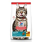Hill's Science Diet Dry Cat Food, Adult 7+ for Senior Cats, Indoor, Chicken...