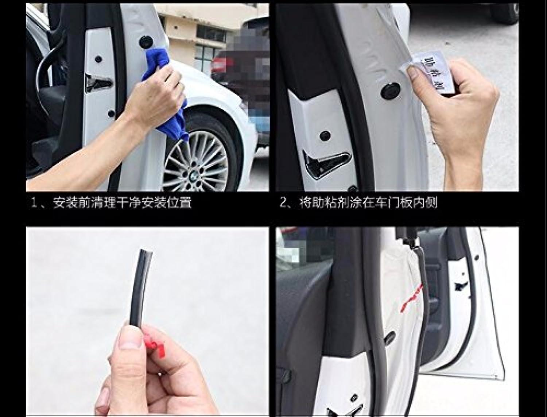 10M HOT car Sticker Door Predection Rubber Strip for Mazda mx5 Hyundai i10 vw Caddy BMW e87 alfa Romeo 159 Volvo xc6 Accessories