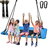 Trekassy 700lb Giant 60' Platform Tree Swing for Kids and Adults Waterproof with Durable Steel Frame and 2 Hanging Straps