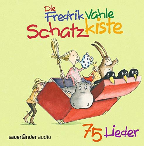 Die Fredrik Vahle Schatzkiste: 75 Lieder