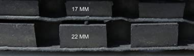 oKu-Tex Doormat, Black, 50 x 100 x 2,2 cm