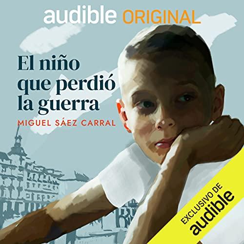 Diseño de la portada del título El Niño que Perdió la Guerra